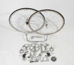 Vintage Shimano 600 AX Bicycle Groupset Super Rare Group Set 600ax Bike Parts