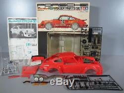 Vintage Tamiya SP005 1/12 Porsche Jagermeister 934 Turbo RSR Red Body Parts Set