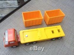 Vintage Tiny Tonka Material Handling Set Number 972 Super Rare Scrap Truck