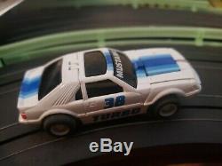 Vintage Tyco Transformers Turbo Mustang Slot Car Set Mint Mint Super Rare