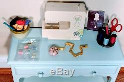 Wow! Super RARE Chrissa's Craft Studio by American Girl COMPLETE SET Retired