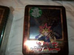 Yugioh 2003 Yugi Booster Pak Tin Collector Factory Sealed Super Rare Set