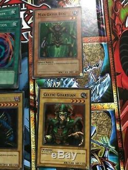 Yugioh LOB Set, Dark Magician, Man Eater Bug, Tri-Horned, Etc