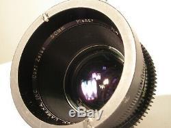 Zeiss B Mount Super Speed Set With Pl Vintage Rare 18mm, 35mm, 50mm, 85mm(s35)